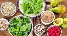 "New research suggests a high-fiber diet may help prevent various breathing diseases, which answers the question, ""Is there such a thing as a COPD diet? Healthy Snacks For Diabetics, Healthy Meals For Two, Healthy Eating, High Carb Foods, Low Carb Diet, Clean Recipes, Whole Food Recipes, Healthy Recipes, Stop Eating"