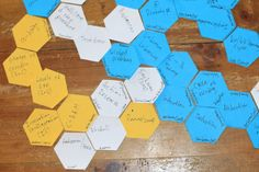 hexagonal thinking for assignment 4 Learning Spaces, Coasters, Design, Coaster