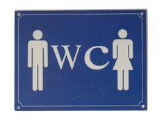Tabliczka 'WC'