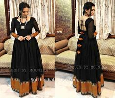 Anarkali dress designs made form silk sarees, saree anarkali dress designs, convert old saree into long evening gown and dress, Salwar Designs, Lehenga Designs, Kurta Designs Women, Kurti Designs Party Wear, Silk Kurti Designs, Indian Fashion Dresses, Indian Gowns Dresses, Dress Indian Style, Indian Outfits