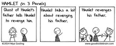 All of Shakespeare's Plays, Converted to 3-Panel Webcomics. These are great!