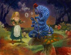ALICE IN WONDERLAND - WHOO ARE YOUU? - BY BRIAN LEBLANC