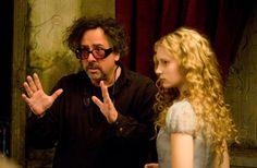 Tim Burton director de la pelicula.