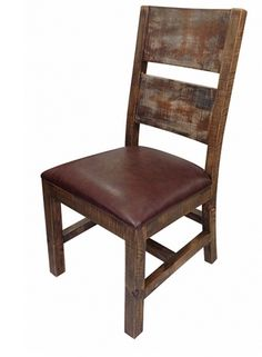 rustic dining room chairs upholstered dining cabo chair by ifd at kensington furniture - Rustic Dining Set