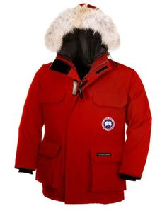 Canada Goose Expedition Parka Red Kids