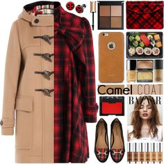 Wear a Camel Coat! by barbarela11 on Polyvore featuring moda, Chicwish, Burberry, Timeless, Jas M.B., Marvel, Moshi, NARS Cosmetics and Givenchy