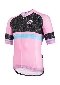 Core Static Stripe Jersey Cameo Pink