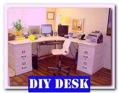 http://theofficedesigns.net/uncategorized/diy-home-office-desk-minimalist/ - Diy Home Office Desk Minimalist