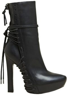 Haider Ackermann Heel and high heel boots for Women Sexy Boots, Black Boots, Nylons, Heeled Boots, Ankle Boots, High Heels, Shoes Heels, Boot Heels, Unique Shoes