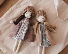 Soñar con vestido de muñeca hecha a mano - lunares vestidos y flores