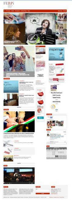 Il sito della #Ferpi, la Federazione #RelazioniPubbliche Italiana, è da oggi online con una veste rinnovata, con l'obiettivo di diventare un think tank sui temi della comunicazione e rispondere meglio alle nuove esigenze del mercato, continuando a essere un luogo di confronto e dibattito.