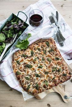 Buckwheat Pizza Crust. Buckwheat flour, water olive oil.