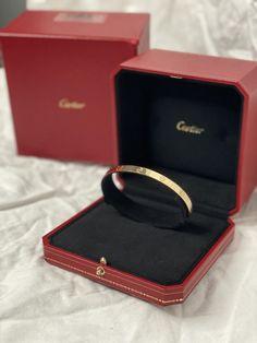Cartier Yellow Gold Box W Love Bangle Size 23 Custom Size W/ Bracelet Love Bracelets, Bangle Bracelets, Bangles, Wallet Chain, Clutch Wallet, Bangle Box, Cartier Gold, Cartier Bracelet, Louis Vuitton Neverfull Gm