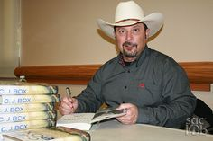 """Bestselling author CJ Box signed copies of his latest Wyoming-based thriller before speaking to a crowd of more than 300 at the Tsakopoulos Library Galleria for the April 30 Bee Book Club. Released on March 10, """"Endangered"""" is already in its third printing—though, as Box noticed, Barnes & Noble had first-printing copies available for sale at the event."""