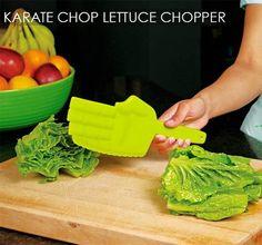 inventos para preparar la ensalada . Más #humor en www.lasfotosmasgraciosas.com