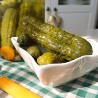 Home Canning, Pickles, Cucumber, Potatoes, Smoothie, Vegetables, Cooking, Food, Baking Center