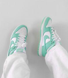 Nike Dunks, Nike Sb, Nike Air Max, Glow, Dunk Low, Jordans, Baby Shoes, Sneakers Nike, Green