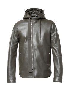 Diesel Black Gold LINUSO Leather Jackets Man | Diesel Online Store