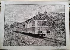 "Kresba: Vlak M262.0 + ""krátký Balm"" + M262.0 - Blog iDNES.cz Arches, Snow, Painting, Outdoor, Art, Outdoors, Art Background, Painting Art, Kunst"