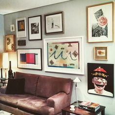Galeria de quadros by Rogério Castro (designer de interiores)