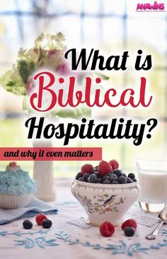 What is Biblical hospitality? Have you ever asked yourself that question? Is it different than throwing a party? And why does it even matter anyways? If you are asking these questions, we can easily explain what Biblical hospitality really means and why you should start doing it.