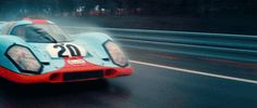 Steve McQueen's Porsche 917 from the 1971 film 'LeMans'  Always reblog 917′s