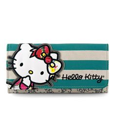 Take a look at this Hello Kitty Pastel Bow Wallet by Loungefly on #zulily today!