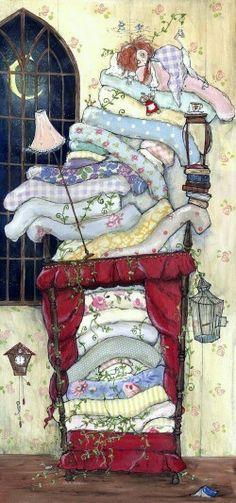 Die Prinzessin auf der Erbse, Hans Christian Andersen