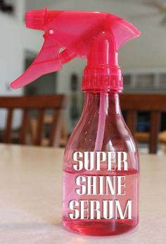 Use rubbing alcohol to shine EVERYTHING in kitchen AND bathrooms. Pour rubbing alcohol in spray bottle.