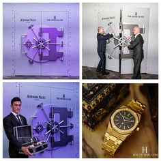 Distinguished guests were introduced to the Audemars Piguet Royal Oak Extra-Thin The Hour Glass Limited Edition timepiece over dinner on 29 July in Singapore.  @audemarspiguet @thehourglasswatches_official by hautetimeasia