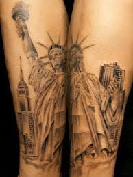 What does statue of liberty tattoo mean? We have statue of liberty tattoo ideas, designs, symbolism and we explain the meaning behind the tattoo. Landscaping Las Vegas, Landscaping Melbourne, Statue Of Liberty Tattoo, City Tattoo, Landscape Tattoo, Ties That Bind, Body Is A Temple, Word Tattoos, Sleeve Tattoos