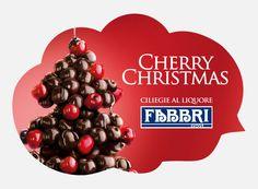 """Cherry Christmas."" http://www.lelecorni.com/fabbri-cherry-christmas/  #ADVERTISING, #Fabbri1905, #Food, #GiuliaRomanelli, #StileDiBologna #lelecornistudio"