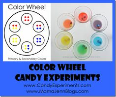 Candy Experiments: Candy Experiments Blog Tour #3: The M Color Wheel