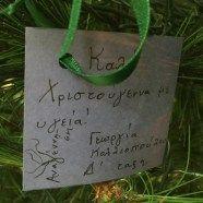 """Δέντρο των Ευχών – 2015   Εκπαιδευτήρια """"Αναγέννηση ΙΚΕ"""""""