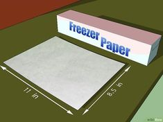 How to Print on Fabric Using Freezer Paper. Printing on fabric allows you to take your crafts projects to a different level! If you don't want to spend money on fabric transfer paper, you can do it yourself with freezer paper, fabric, and. Paper Embroidery, Embroidery Patterns, Machine Embroidery, Paper Patterns, Embroidery Stitches, Freezer Paper Transfers, Transfer Paper, Freezer Paper Crafts, Heat Transfer