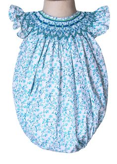 Baby girls beach smocked bubble perfect for your by CarouselWear, $42.99