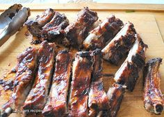 Fast & Easy Oven Roasted Baby Back Ribs Fast & Easy Oven Roasted Baby Back Ribs - 2 Sisters Recipes by Anna and Liz Pork Back Ribs Oven, Best Ribs In Oven, Babyback Ribs In Oven, Oven Baked Pork Ribs, Pork Roast In Oven, Best Oven, Bbq Ribs, Rib Recipes