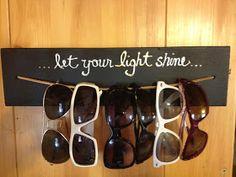 Dalton Adventures: Living Life to the Fullest: Sunglasses hanger