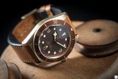 Tudor Heritage Black Bay Bronze - The ultimate Black Bay - Baselworld 2016