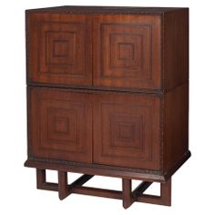 Frank Lloyd Wright Stacking Cabinets