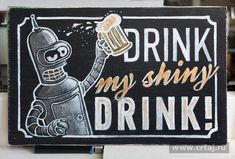 Drink my shiny drink Drink Signs, Drink Me, Interiors, Home Decor, Decoration Home, Room Decor, Decor, Home Interior Design, Home Decoration