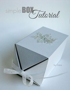 Instructions for a simple box - I still owe it to you! Some asked me for a guide to the chic box after this article from the 2013 a - Origami Design, Origami Diy, Useful Origami, Origami Tutorial, Paper Box Template, Christmas Crafts To Sell, Best Birthday Gifts, Appreciation Gifts, Diy Box