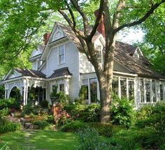perfect home in the wooded garden