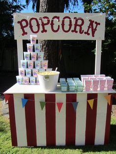 my pop corn stand:)