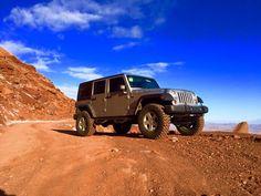 Jeep Rubicon in Moab, Utah scherlife.com