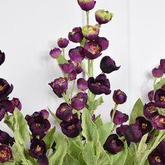 Abigail Ahern Faux Flowers: Purple Hellebore