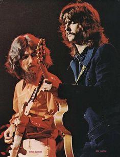 George Harrison, Eric Clapton
