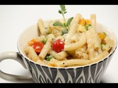 How to make One Pot Pasta.-A very simple dish made with Macaroni, a few vegetables, fresh oregano and parmesan cheese powder.