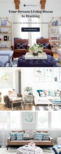 Thousands trust Havenly to decorate their homes. Work one-on-one with a trusted interior designer to decorate your space, for as low as $79