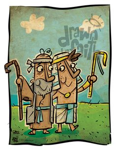 Joseph and Jacob reunited.